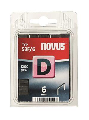 NOVUS vlakdraad nieten D 53F 6mm 1200st