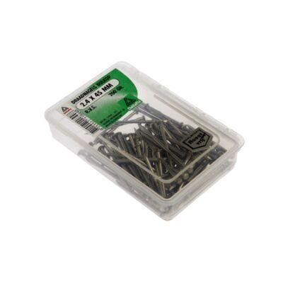 draadnagels bolkop RVS 2.4x45 200gr
