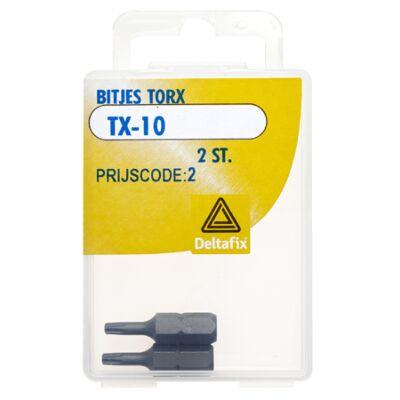 Deltafix bitjes torx TX-10 2st