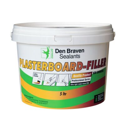 Den Braven zwaluw plasterboard-filler 5liter