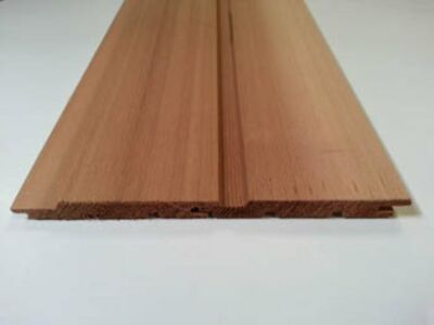 Red cedar sponningschr volh 12x83mm 245cm