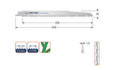 ROTEC RECIPROZAGEN RC150 / 1531L (VPE 2 STUKS)