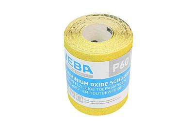 Veba schuurpapier rol 95mmx5mtr Aluminium oxide P60
