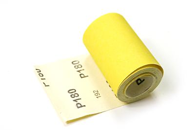 Veba schuurpapier rol 95mmx5mtr Aluminium oxide P180