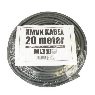 3 x 2.5 XMVK 20 meter ring grijs