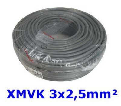 3 x 2.5 XMVK 100 meter ring grijs