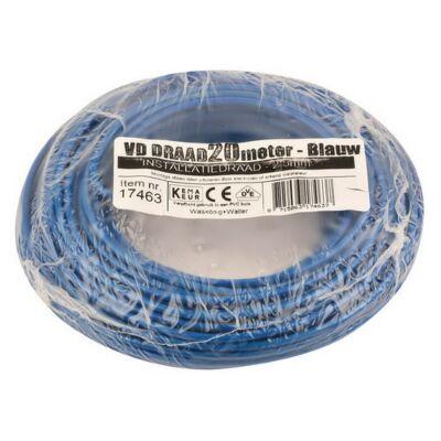 VD-draad 2,5mm² blauw 20 meter