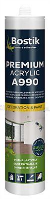 Bostik A990 prem acrylic wit 310ml