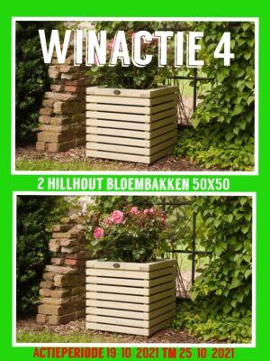 WINACTIE 4: BLOEMBAK HILLHOUT 2 STUKS!