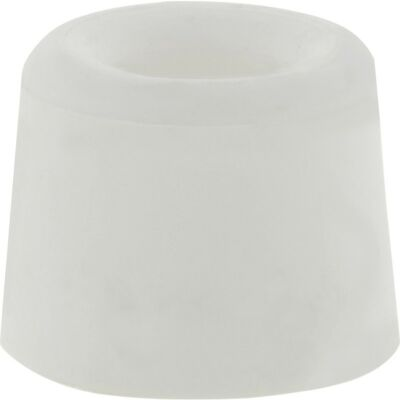 Deurbuffer rubber wit 25mm
