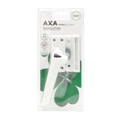 AXA raamsluiting 3308 / drukknop / links / wit