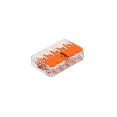 Wago 5V verbindingsklem t/m 4mm2 soepel en massief