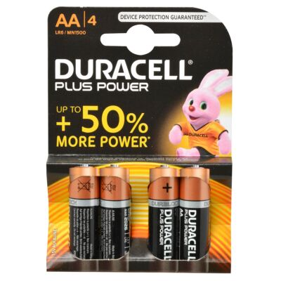Duracell plus power AA 1.5V 4st