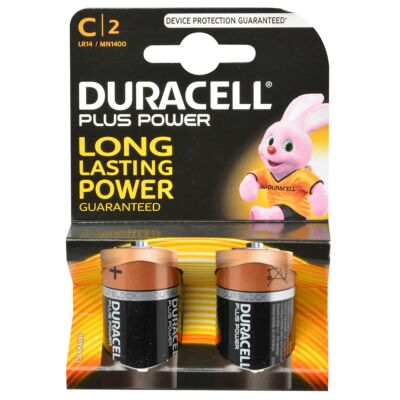 Duracell plus power C 1.5V 2st