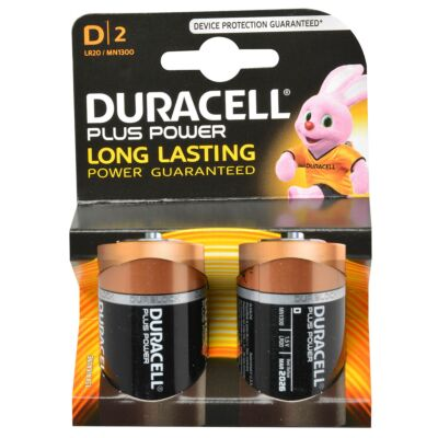 Duracell plus power D 1.5V 2st