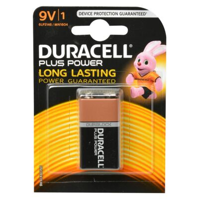 Duracell plus power 9V 1st