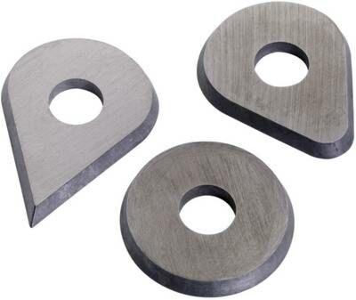 Bahco reservemessen druppelvorm voor verfschraper 625