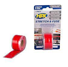 Zelfvulkaniserende tape rood 25mm 3mtr