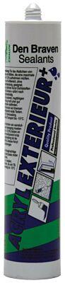Den Braven zwaluw acryl exterieur+ wit 310ml