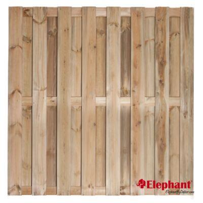 Grenen plankenscherm 180x180 15 planks