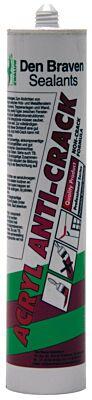 Den Braven zwaluw acryl anti-crack wit 310ml