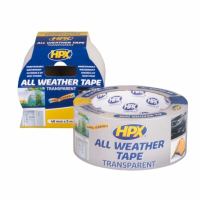 All weather tape transp. 48mm 25mtr