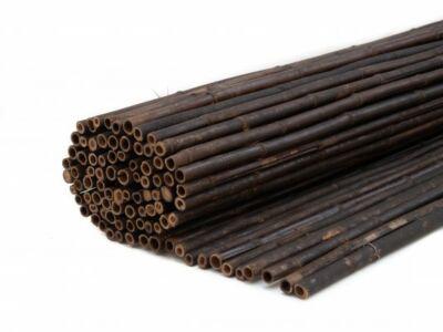 Bamboescherm rol zwart 180x180cm
