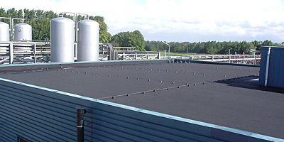 Bitumen dakbedekking mineraalzand 5x1m1