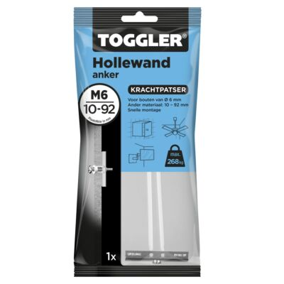 Hollewand anker M6 10-92mm 1st