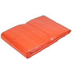 Dekzeil oranje afm 6x8m