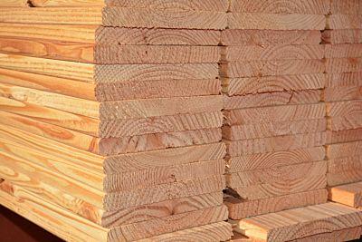 Douglas geschaafde plank afm 18x160mm  400cm