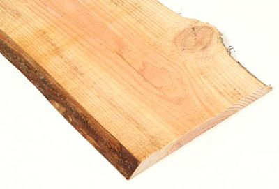 Douglas schaaldeel blank 1,9x15-25cm lengte 400cm