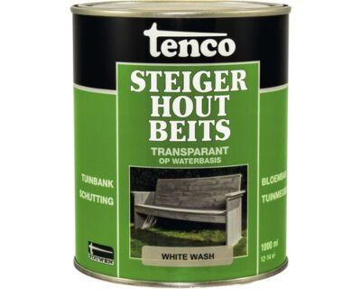 Tenco steigerhoutbeits white wash 1liter