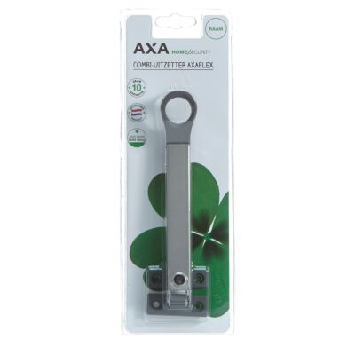 AXA combi-raamuitzetter grijs