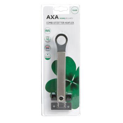AXA combi-raamuitzetter rvs zwart
