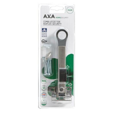 AXA veiligheids combi-raamuitzetter security rvs zwart