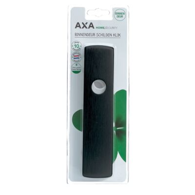 AXA Curve Klik Loopdeurschilden zwart