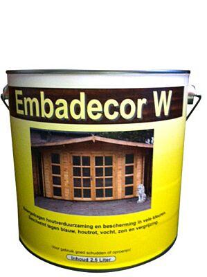 Embadecor-W douglas beits naturel 2,5liter