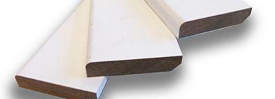 Grenen plint afm 12x90mm lengte 490cm