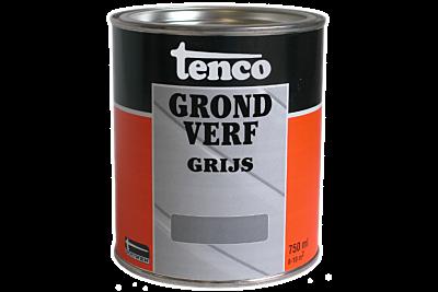 Tenco grondverf grijs 0,75liter