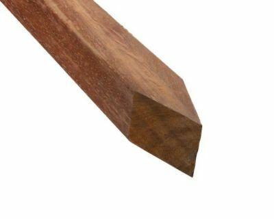 44x68 hardhouten funderingspaal 150cm