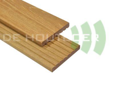 Hardhout vlonderplank 25x145mm 395cm