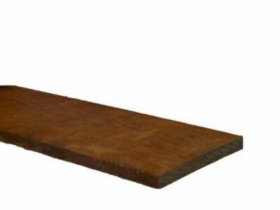 Hardhout ruw 20x200 500cm