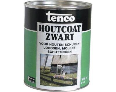Tenco houtcoat teervrij zwart 2,5liter