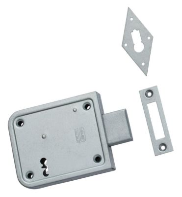 Kelderbandslot 91/11 70mm m/2 sleutels 1-4