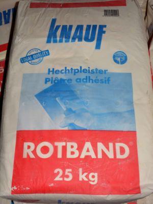 Knauf roodband prof. zak a 25 kg
