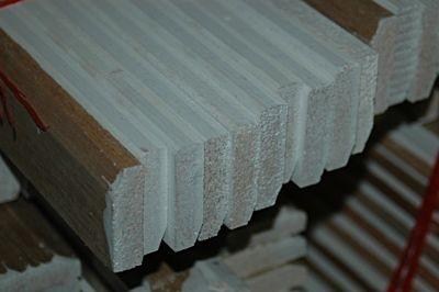 Meranti plint gegrond afm 12x55mm lengte 490cm