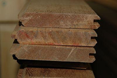 Meranti visbekdeel 16x86mm 275cm