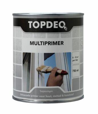 Topdeq multiprimer grijs 0,75liter