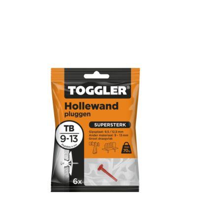 Hollewand plug TB 9-13mm 6st